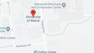 Map of UMaine campus