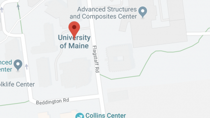 Map of UMaine campus