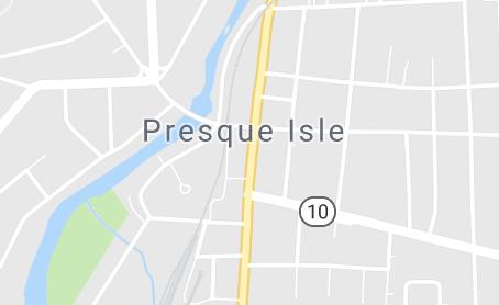 Map of Presque Isle