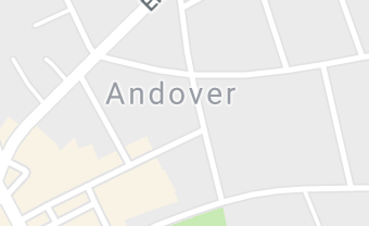 Map of Andover, MA