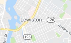 Map of Lewiston