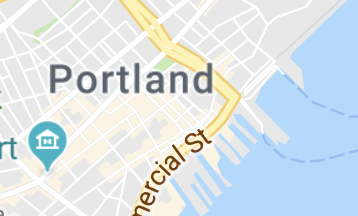 Map of Portland
