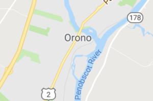 Map of Orono