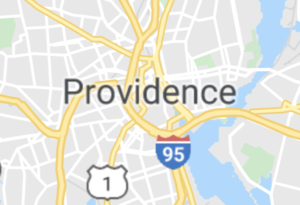 Map of Providence, RI