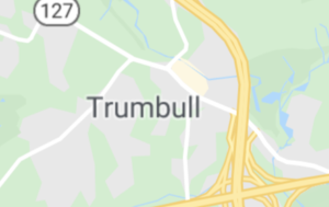 Map of Trumbull, CT