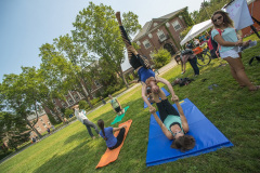 Yoga on the Mall