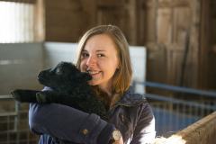 At Witter Farm students get the opportunity to meet baby lambs, as seen here, and baby cows.