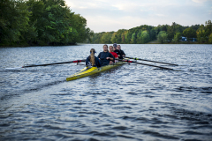 Rowing down the Stillwater River
