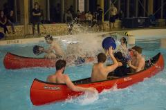 Canoeing in the Wallace Pool