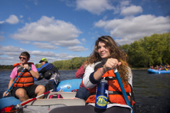 You can Whitewater Raft down the Penobscot or Kennebec Rivers