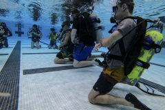 Students practicing Scuba Diving
